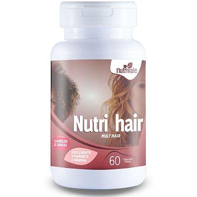 Nutri Hair (Cabelos e unhas ) - 60 cápsulas - Nutrivale