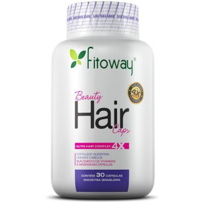 Beauty Hair  60 cápsulas - Fitoway