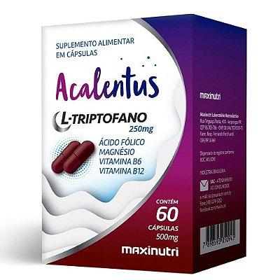Acalentus ( Calmante Natural) 60 cápsulas - Maxinutri