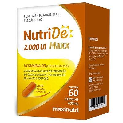NutriD 1.000 UI 60 cápsulas - Maxinutri