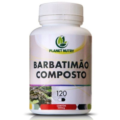 Barbatimão Composto 120 cápsulas - Planet Nutry