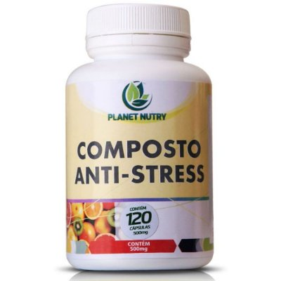 Composto Anti-Stress 60 cápsulas - Planet Nutry
