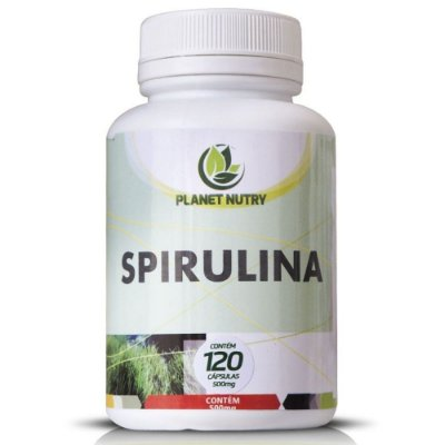 Spirulina 60 cápsulas - Planet Nutry