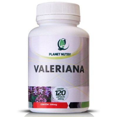 Valeriana 60 cápsulas - Planet Nutry