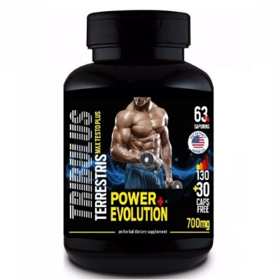Tribulus Terrestris 63% - 160 cápsulas - Power Evolution