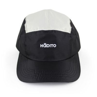 Boné Preto e Branco Five Panel