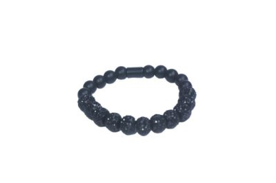 Pulseira Cristais All Black