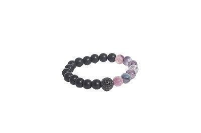 Pulseira Luxo Black Purple