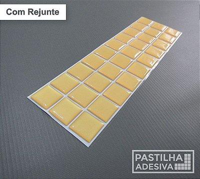 Faixa Pastilha Adesiva Resinada 27x8 cm - AT05 - Amarelo