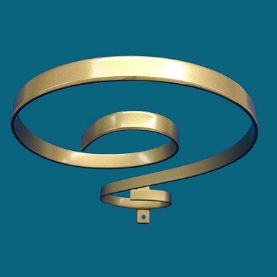Dossel De Teto Arabesco - Dourado