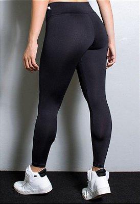 Calça Legging Lisa Suplex - Preto