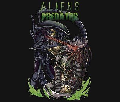 Enjoystick Aliens Vs Predator Composition