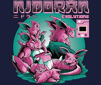 Enjoystick Pokémon - Nidoran Macho Evolutions
