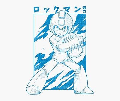 Enjoystick Megaman Blue Style