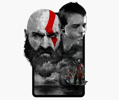 Enjoystick God of War 4