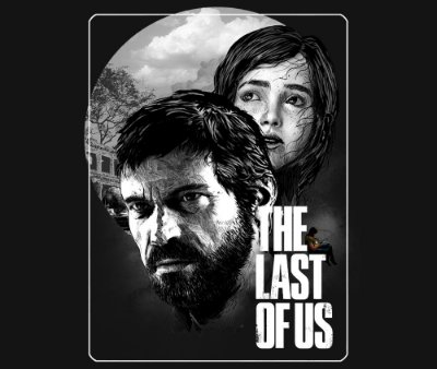 Enjoystick The Last of Us Ellie and Joel