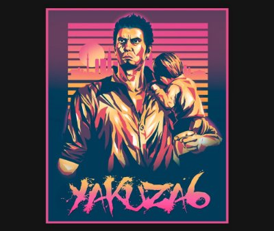 Enjoystick Yakuza 6 Neon