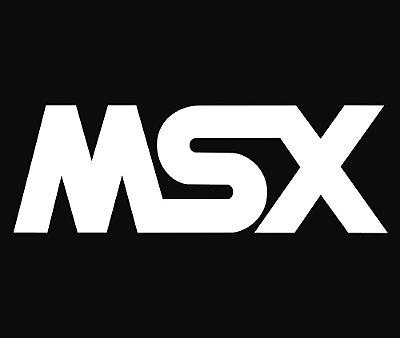 Enjoystick MSX White Logo