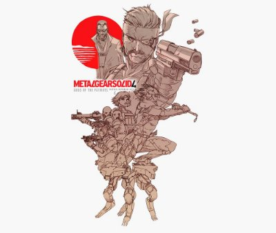 Enjoystick  Metal Gear Solid 4