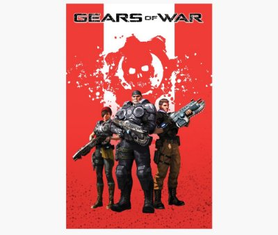Enjoystick Gears of War Red Composition