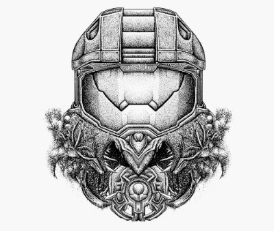Enjoystick Halo - Master Chief Helmet