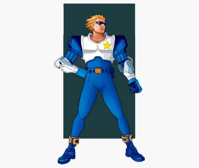 Enjoystick Captain Commando - Strenght Style