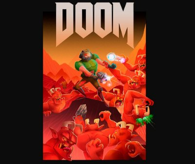 Enjoystick Doom Cartoon