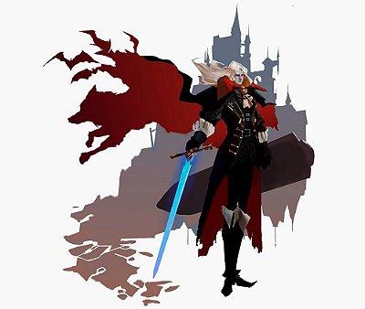Enjoystick Castlevania Alucard Castle Composition