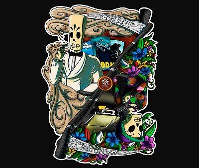 Enjoystick Grim Fandango Color Composition