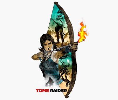 Enjoystick Tomb Raider - Lara Croft Action