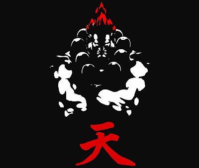 Enjoystick Street Fighter Akuma Minimalist