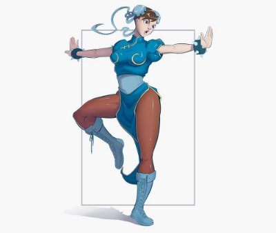 Enjoystick Street Fighter Chun-li