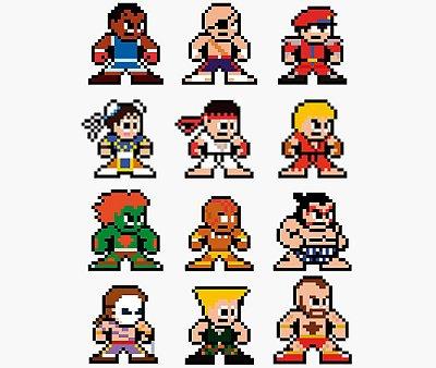 Enjoystick Street Fighter II 8 Bits