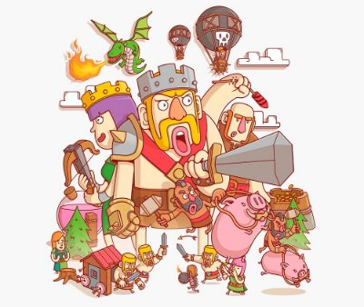 Enjoystick Clash of Clans