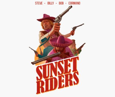 Enjoystick Sunset Riders - Steve - Billy - Bob - Cormand