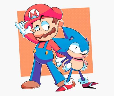 Enjoystick Mario and Sonic