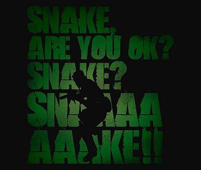 Enjoystick Metal Gear - Snake Are you ok? Snaaaaaaaaaaaake