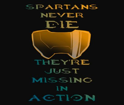 Enjoystick Spartans Never Die