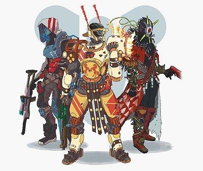 Enjoystick Destiny Characters