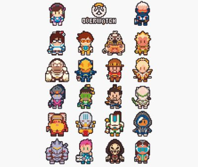 Enjoystick Overwatch 16 bits