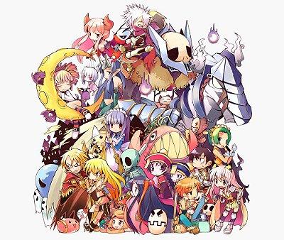 Enjoystick Ragnarok Characters Composition 1