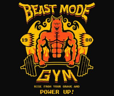 Enjoystick Altered Beast - Beast Mode