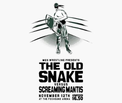 Enjoystick Old Snake VS Screaming Mantis