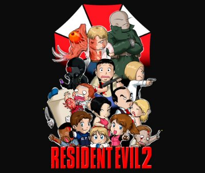 Enjoystick Resident Evil Cartoon 2