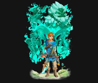 Enjoystick Zelda Breath of The Wild - Link and Champions