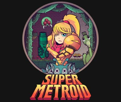 Enjoystick Metroid Premium Composition