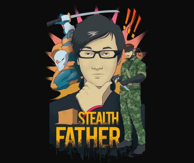 Enjoystick Hideo Kojima - Stealth Father