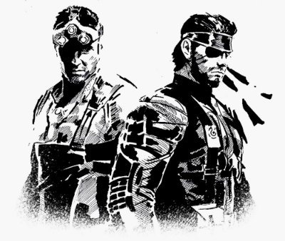 Enjoystick Sam Fisher & Big Boss