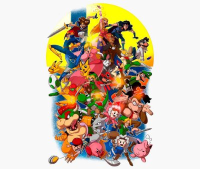 Enjoystick Super Smash Bros Epic Color