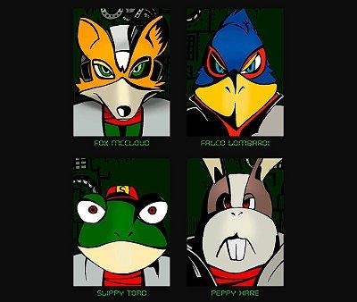 Enjoystick Star Fox - Faces